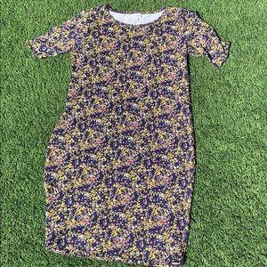 LuLaRoe Floral Nicole Dress XL